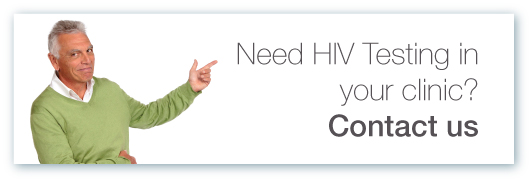 HIV Testing Contact Us Button
